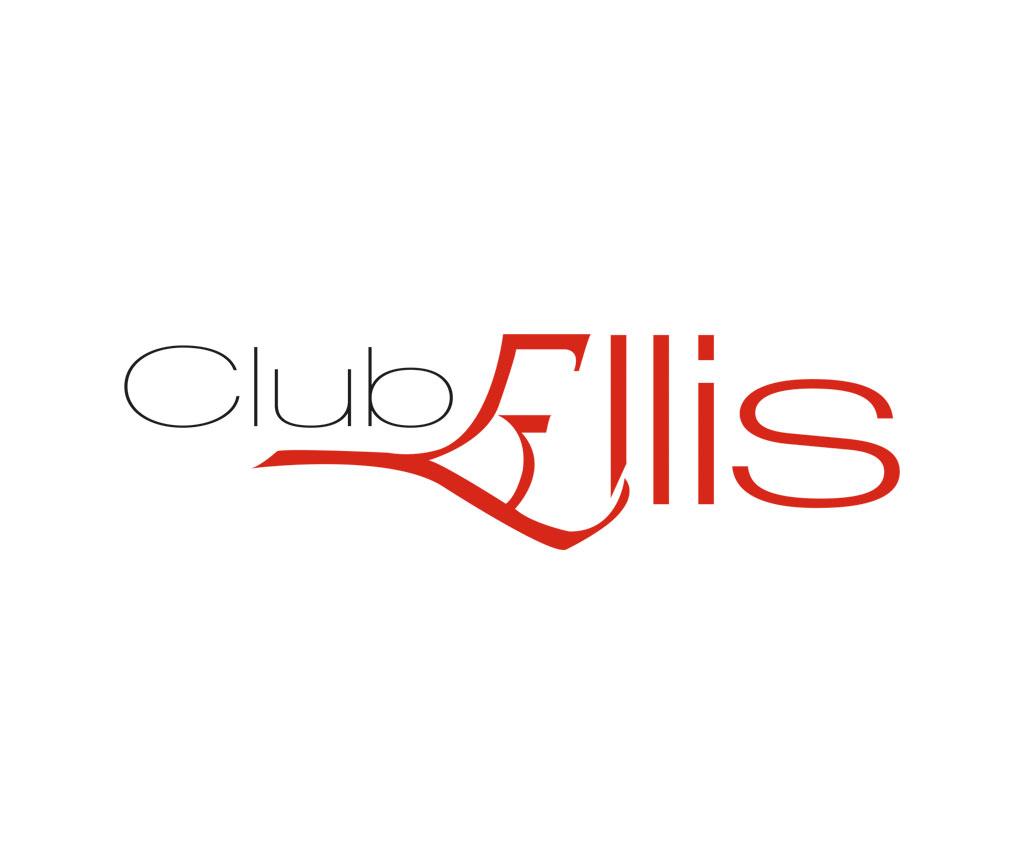 Club Ellis, charte graphique, logo. Yes graphiste, site internet et e-commerce, communication. Yes on y va ! Drôme 26.