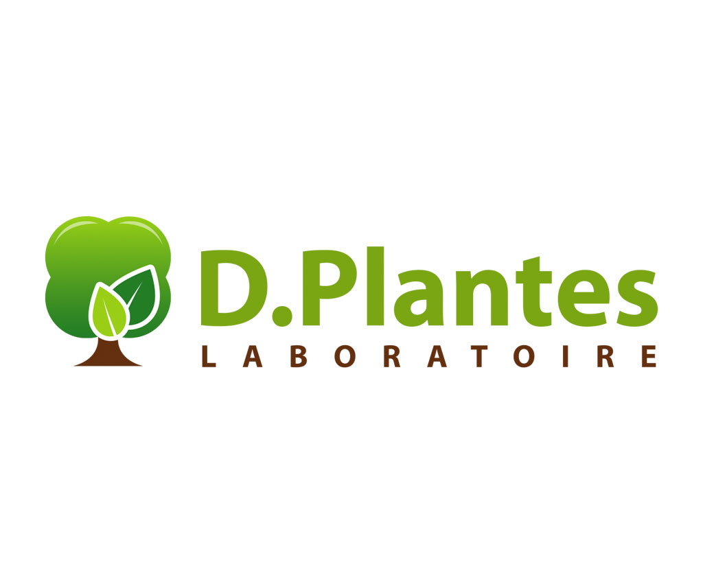 Laboratoire D.Plantes, logo, communication B2C, packaging, site Magento. Yes graphiste, site internet et e-commerce, communication. Yes on y va ! Drôme 26.